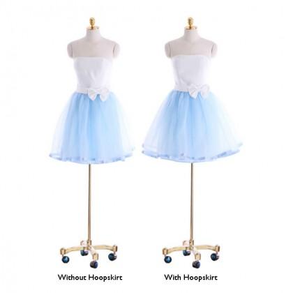 Gal's Night Dress - Light Blue