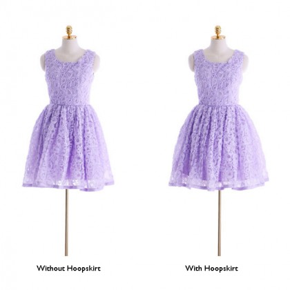 Best of the Bunch Dress - Lavender