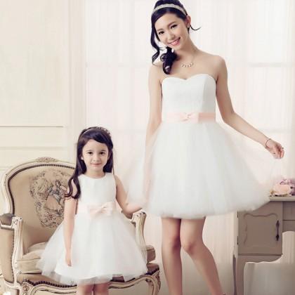 Sweeten The Deal Dress - White