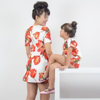 A Little Drama Dress