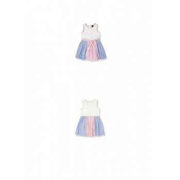 Pastel Color Block Dress