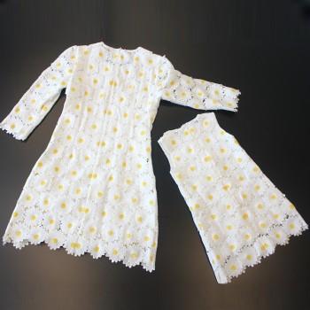 Heart in Lace Dress