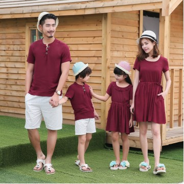 Secret Garden Dress / 2-Piece Set - Burgundy