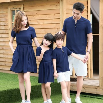 Secret Garden Dress / 2-Piece Set - Navy