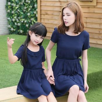 Secret Garden Dress / 2-Piece Set - Navy