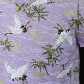 Dainty Harmony Dress - Violet