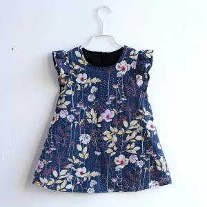 Winter Sonata Dress - Blue