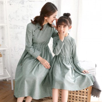 Best Dreams Happen Dress - Green