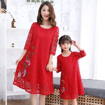 Your First Choice Dress - Red
