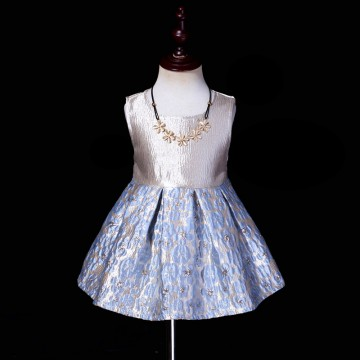 Perfect Girlfriend Dress - Silver Blue