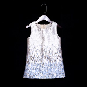 Secret Killer Dress - Silver Blue