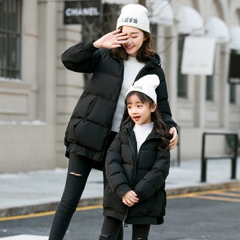 Make You Smile Padded Coat - Black