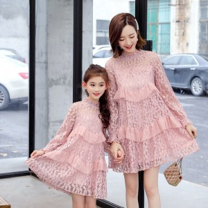 Lacey Dacey Dress - Pink