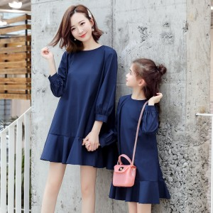 You Must Possess Dress - Navy