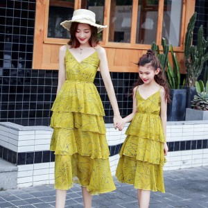 Love In Fairy Tale Dress - Mustard Yellow