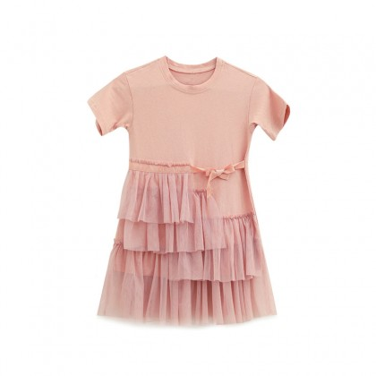 Fly to the Space Dress / 2-Piece Set (Pink)