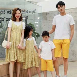 Just The Way You Are Dress / 2-Piece Set (Yellow)