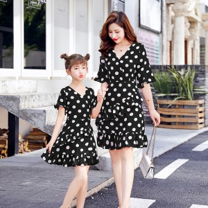 Missie Muchie Dress - Black