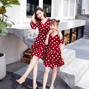 Missie Muchie Dress - Wine