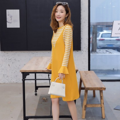 Bonjour Maternity Dress Set (2-Piece)