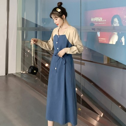 Froze In Time Maternity Dress