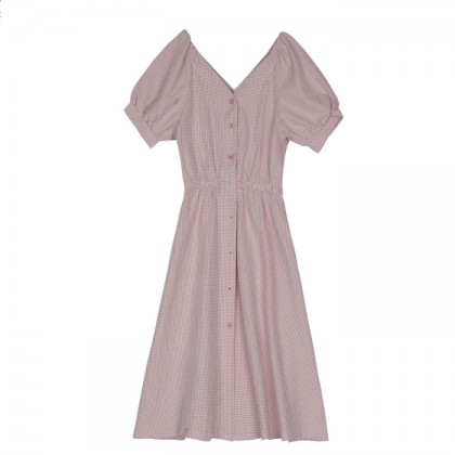 High Tea Dress - Pink