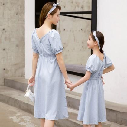 High Tea Dress - Blue