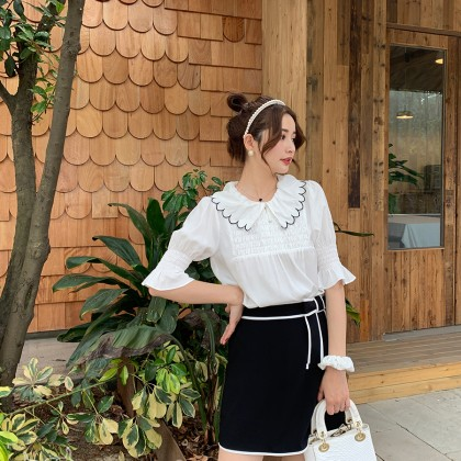 Staple of Your Style Top/Skirt Set (2-Piece)