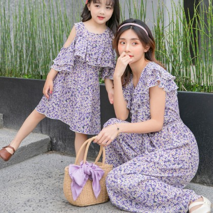 Miss Spontaneous Dress/Jumpsuit - Purple