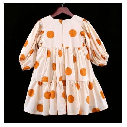 Polka Dot Tiered Dress