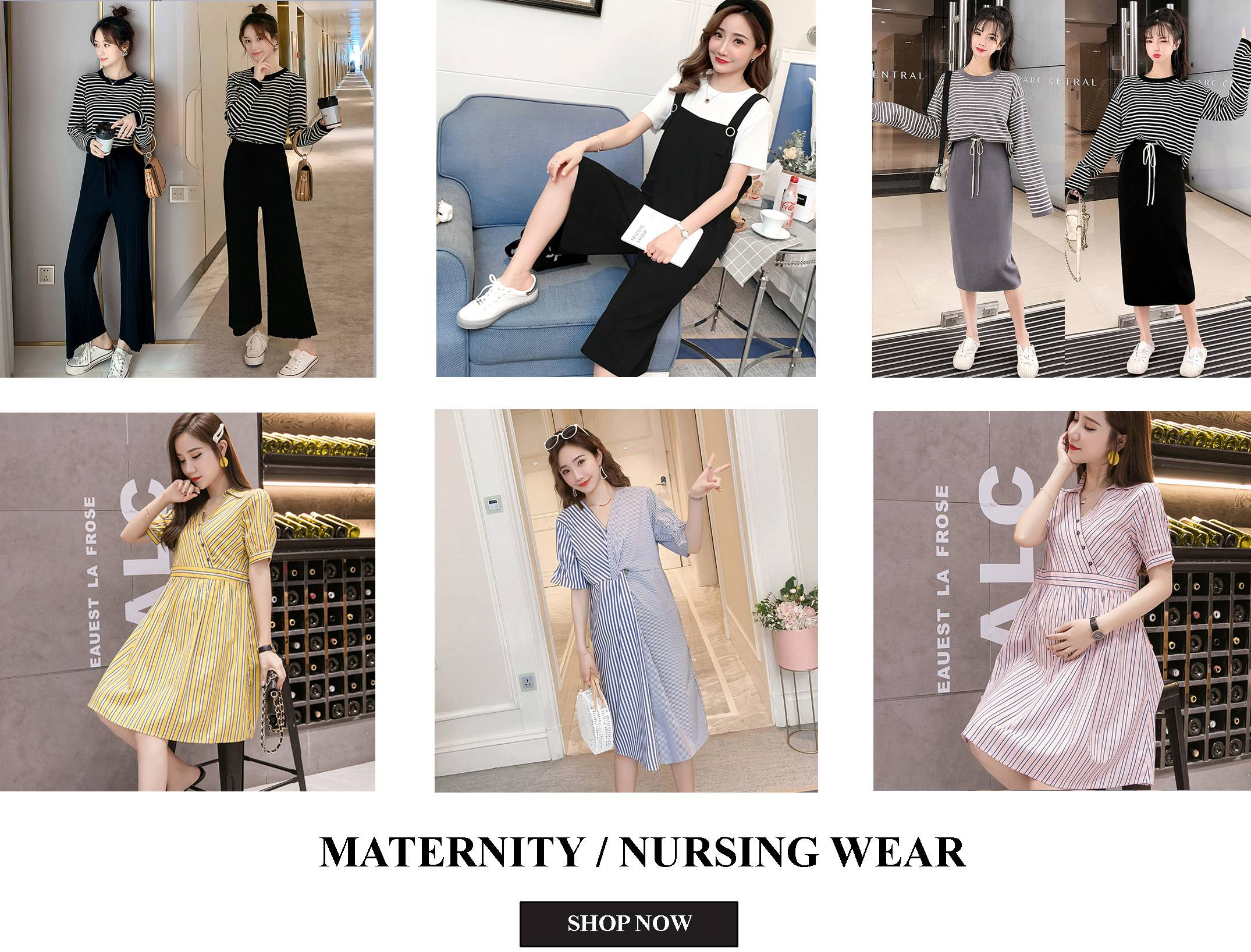 Lovey Dovey Fashion Maternity Nursing Wear